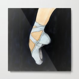 Ballet Slippers no. 1609094 Metal Print