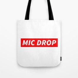 BTS MIC DROP Tote Bag