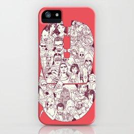 Adulthood Mash-Up iPhone Case
