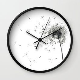 Pissenlit Wall Clock