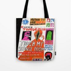 Acrid Tongue-Mush. 2015. Tote Bag