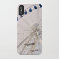 ferris wheel iPhone & iPod Cases featuring Ferris Wheel by Pati Designs & Photography