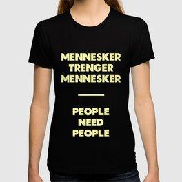 SKAM - People need people T-shirt