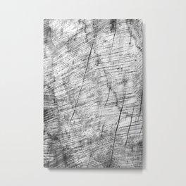 Cracks in timber Textures 3 Metal Print