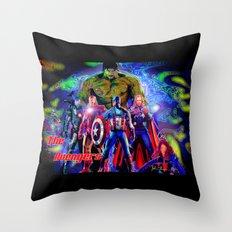 A vengers Throw Pillow