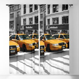 NYC - Yellow Cabs - Shops Blackout Curtain