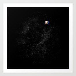 Gravity V2 Art Print