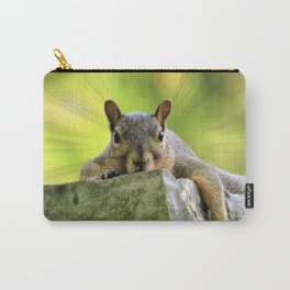 Relaxed Squirrel Carry-All Pouch