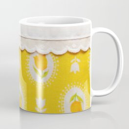 farmhouse yellow tulips Coffee Mug