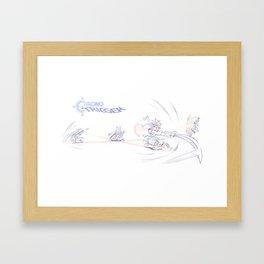 Chrono Trigger - Ozzie's in a Jam! Framed Art Print