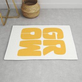 Grow Typography Rug