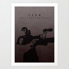 LÉON: THE PROFESSIONAL Art Print