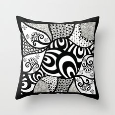 Rifts in the space time continuum  Throw Pillow