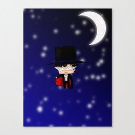 Chibi Tuxedo Mask Canvas Print