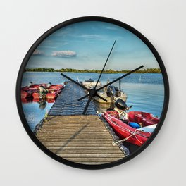 Landing Stage Wall Clock