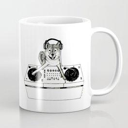 Shiba Inu Dog DJ-ing Coffee Mug