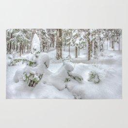 Christmas Snow Rug