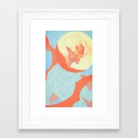 dragon age Framed Art Prints featuring Dragon Age: Fenris by Couple Of Kooks