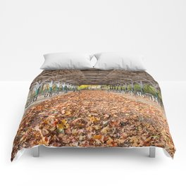 North Point Trolley Pavilion Comforters