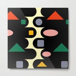 Geometric abstraction  #society6 #decor #buyart #artprint Metal Print