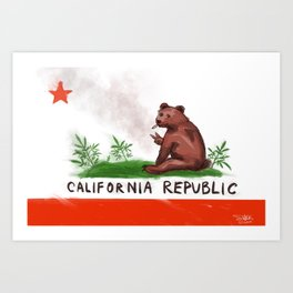Smokey Bear Art Print