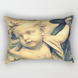 The Hallelujah Cherub. Rectangular Pillow