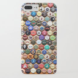 Beer and Ale Bottle Caps iPhone Case