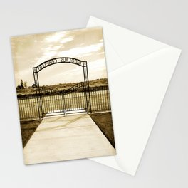 Cemetery  Stationery Cards