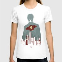 sansa stark T-shirts featuring Tony Stark by offbeatzombie