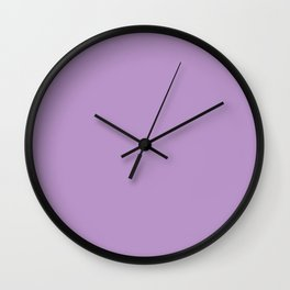 English Lavender 1 - Color Therapy Wall Clock