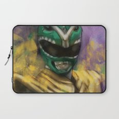 Green Mighty Morphin Power Ranger Laptop Sleeve