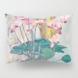 "Charles Rennie Mackintosh ""Cyclamen"" Pillow Sham"