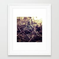 the wire Framed Art Prints featuring wire by soheir