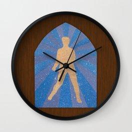 St Elvis Wall Clock