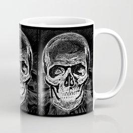 Skull (Black and White) Coffee Mug