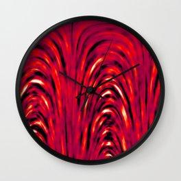 Heat Pattern Wall Clock
