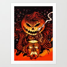 Halloween Pumpkin King (Lord O' Lanterns) Art Print
