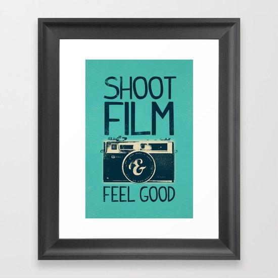 Shoot Film Framed Art Print