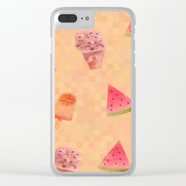 Sweet Treats Clear iPhone Case