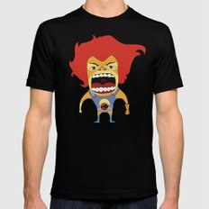Screaming Lion-O Black MEDIUM Mens Fitted Tee