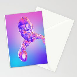 Cyborg, Justice League Stationery Cards