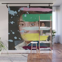 Goya with an Interference 1 Wall Mural