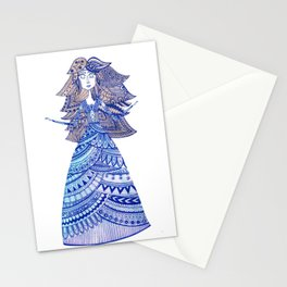 Queen of the West Kingdom Stationery Cards