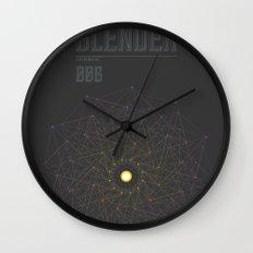 Blender experiment no.6 Wall Clock