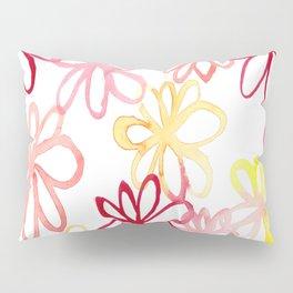 sangria floral Pillow Sham