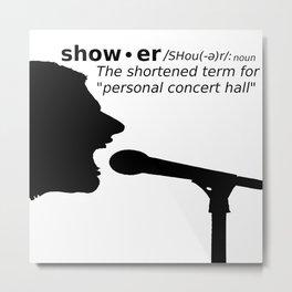 Personal Concert Hall Metal Print
