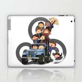 Puppy Pile Laptop & iPad Skin