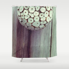 Space Set One Shower Curtain