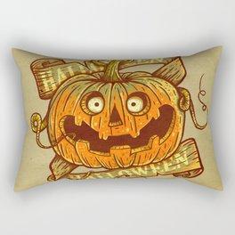 Halloween dark khaki Rectangular Pillow