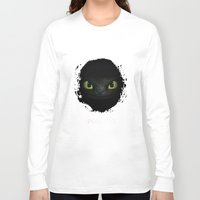 targaryen Long Sleeve T-shirts featuring Toothless  by aleha